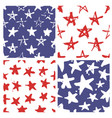 independence day usa seamless pattern vector image