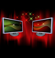 monitors vector image