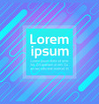 Neon graphic banner with abstract copy space