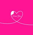 outline valentines day for design website vector image
