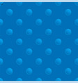 seamless blue pattern with holes vector image