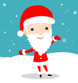 Young Santa Claus vector image vector image