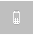 Mobile phone computer symbol vector image