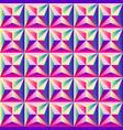 bright colorful geometric abstract seamless vector image vector image