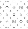 challenge icons pattern seamless white background vector image vector image