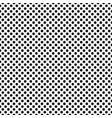 dotted dense monochrome seamless pattern vector image