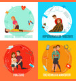 emergency first aid people concept vector image