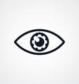 fix eye setting symbol theme vector image vector image