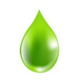 green drops vector image vector image