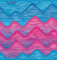 water geometric seamless pattern vector image