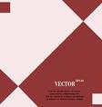 web design a flat geometric background vector image