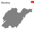 map province china vector image vector image