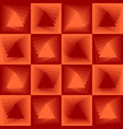 orange abstract background checker patterns with vector image vector image