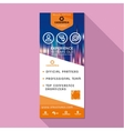 Roll up design business stand banner stand