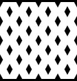 seamless rhombs geometric black and white pattern vector image