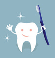 Tooth hygiene vector image
