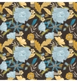 Vintage Fall Pattern vector image