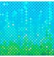 Abstract spring mosaic vector image