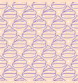 marshmallows pink seamless pattern vector image vector image