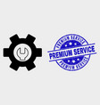 repair options icon and scratched premium vector image vector image