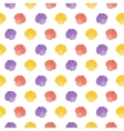 Shell Flat pattern vector image vector image