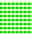 Vintage Tablecloth Pattern Green vector image vector image