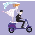 Wedding moto vector image vector image
