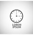 Clock icon design elemen vector image