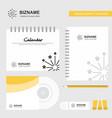 blast logo calendar template cd cover diary and vector image