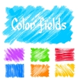 color fields vector image vector image