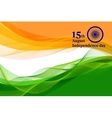 Indian Independence Day concept background vector image vector image