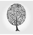 Tree arrow vector image vector image