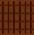 unwrapped milky chocolate bar seamless pattern vector image