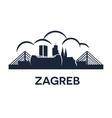 Zagreb Emblem vector image