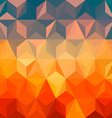 Abstract colorful background design vector image vector image