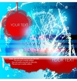 abstract winter background with space for text vector image vector image