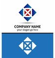 Alphabetical Logo Design Concepts Letter O vector image vector image