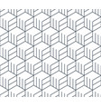 black line pattern on white seamless backdrop vector image vector image