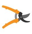 Garden scissor vector image vector image