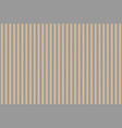 gold platinum color striped fabric texture vector image vector image