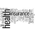 how to find best rates on health insurance in vector image vector image