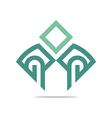 Logo letter G icon design vector image vector image