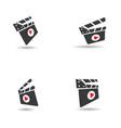 movie design vector image vector image