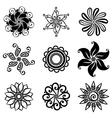 Set Deco Small Circles vector image vector image