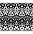 abstract lace hand drawn seamless pattern vector image
