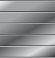 Aluminium and metal background metal abstract vector image vector image