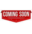coming soon banner design banner design vector image vector image