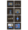 digital photography sign symbols digital vector image vector image