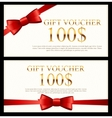 Gift Voucher Template for Your vector image