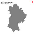 high quality map is a ceremonial county of england vector image vector image